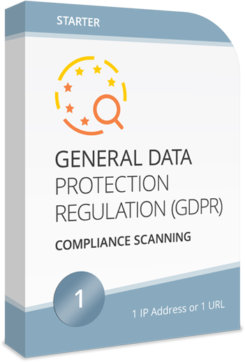 GDPR Compliance Scanning for 1 IP or Host